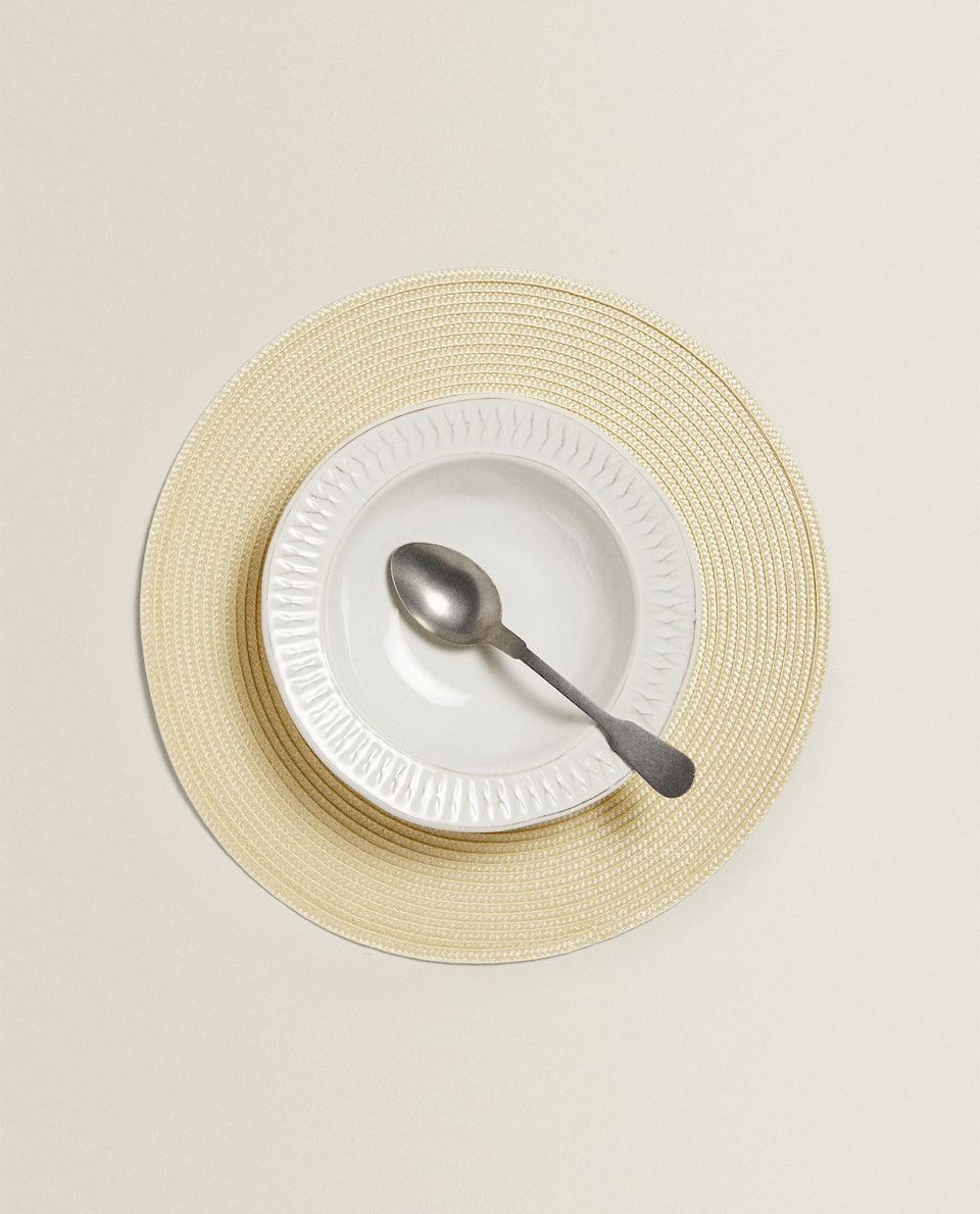 SET DE TABLE ROND