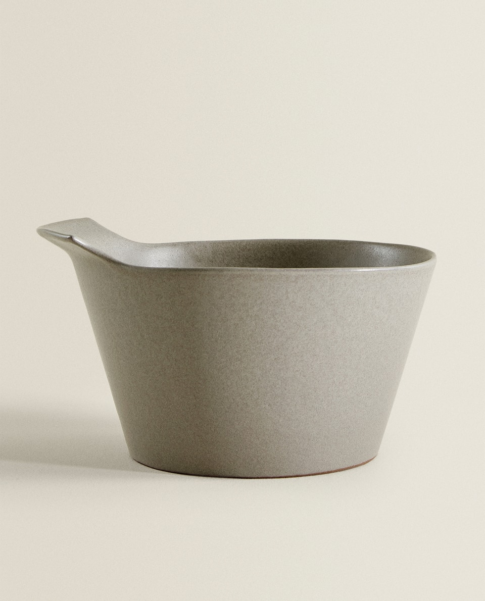 LARGE TERRACOTTA MIXING BOWL