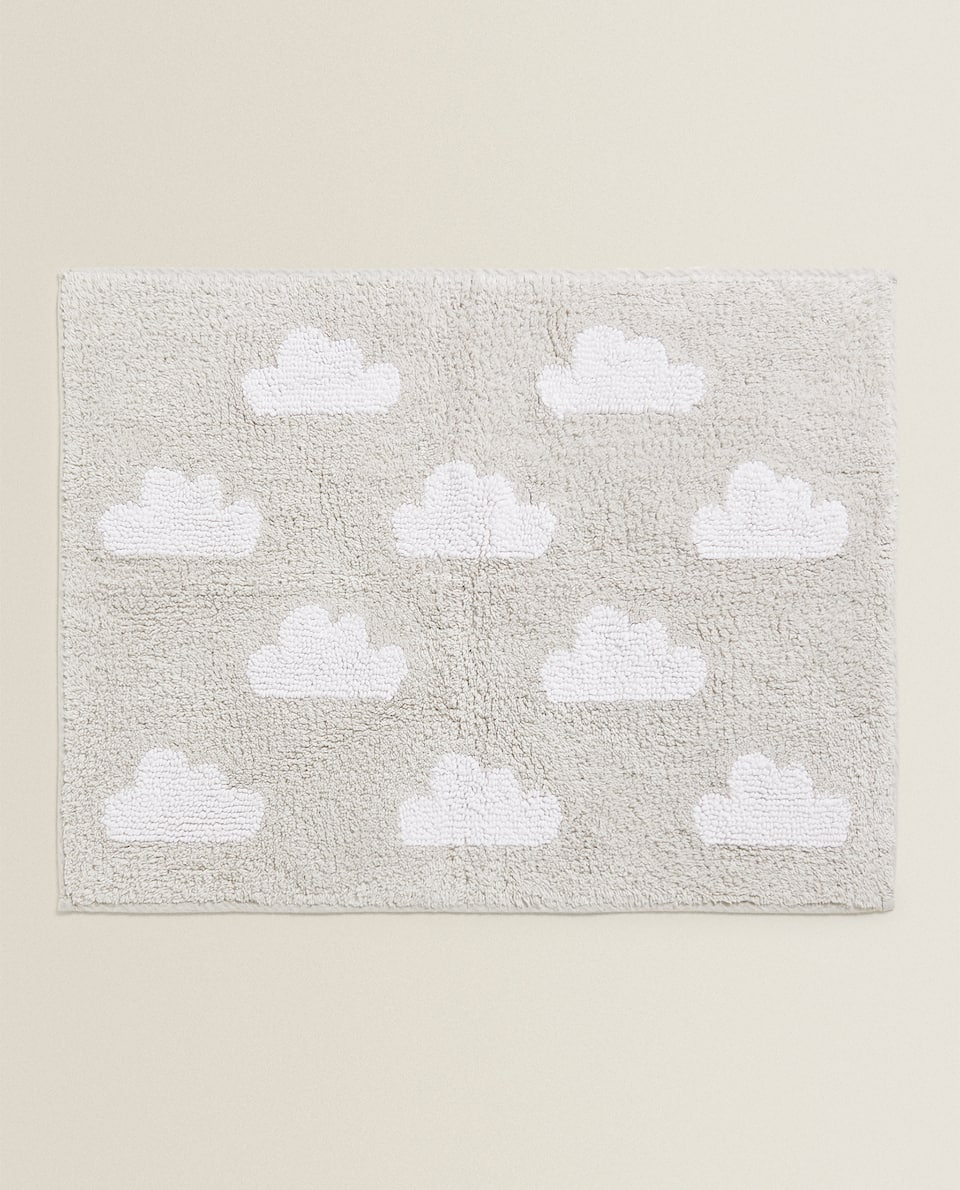 CLOUD DESIGN BATH MAT