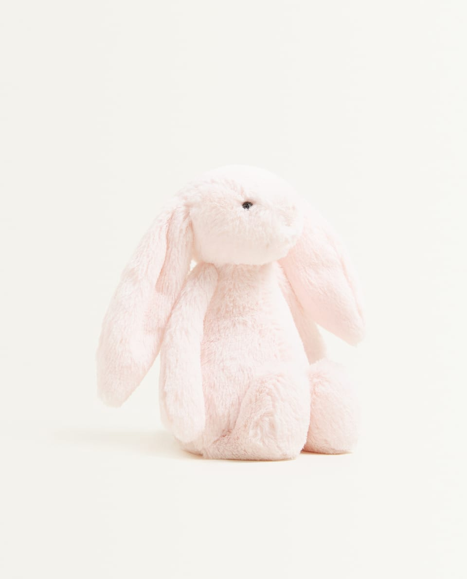BUNNY SOFT TOY RATTLE
