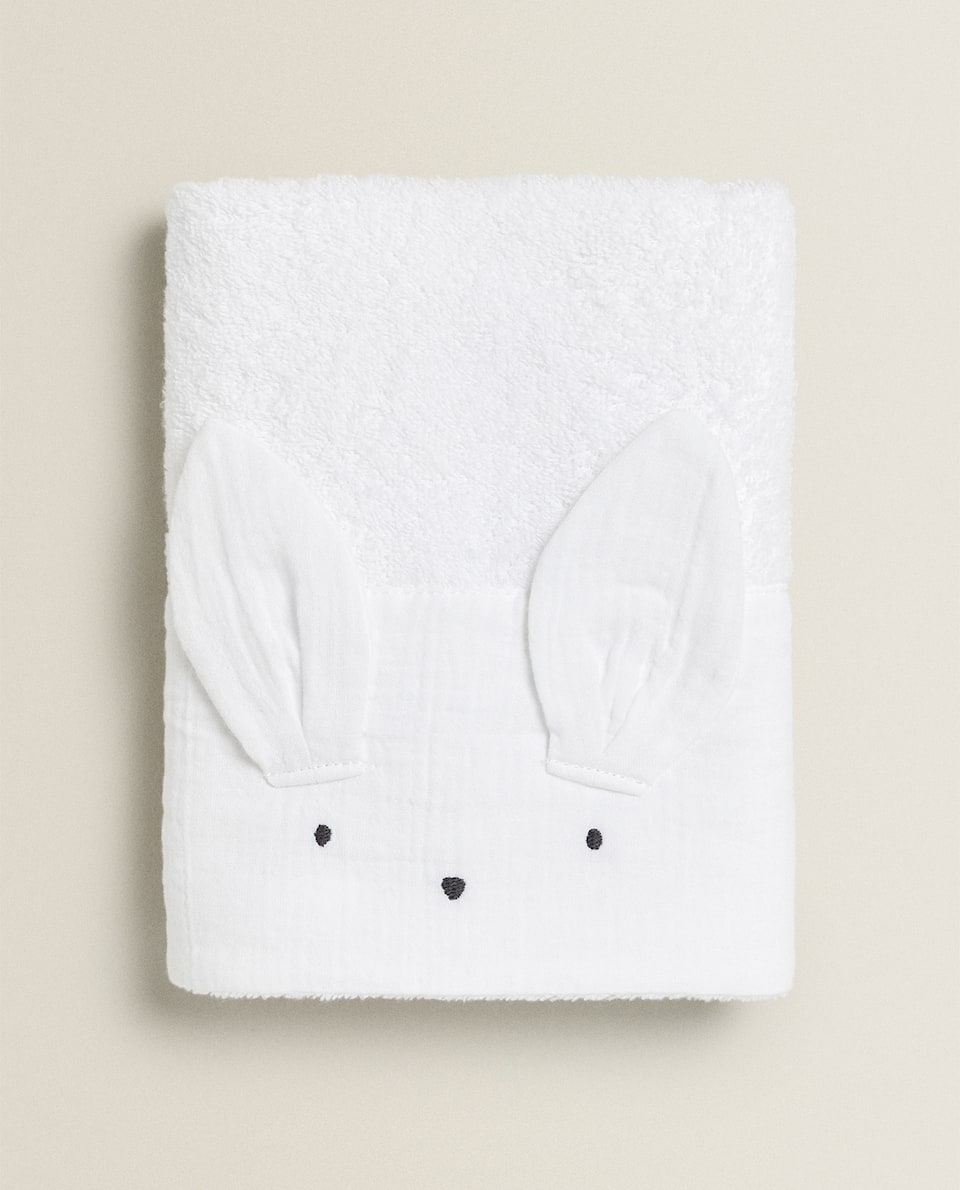 BUNNY RABBIT TOWEL