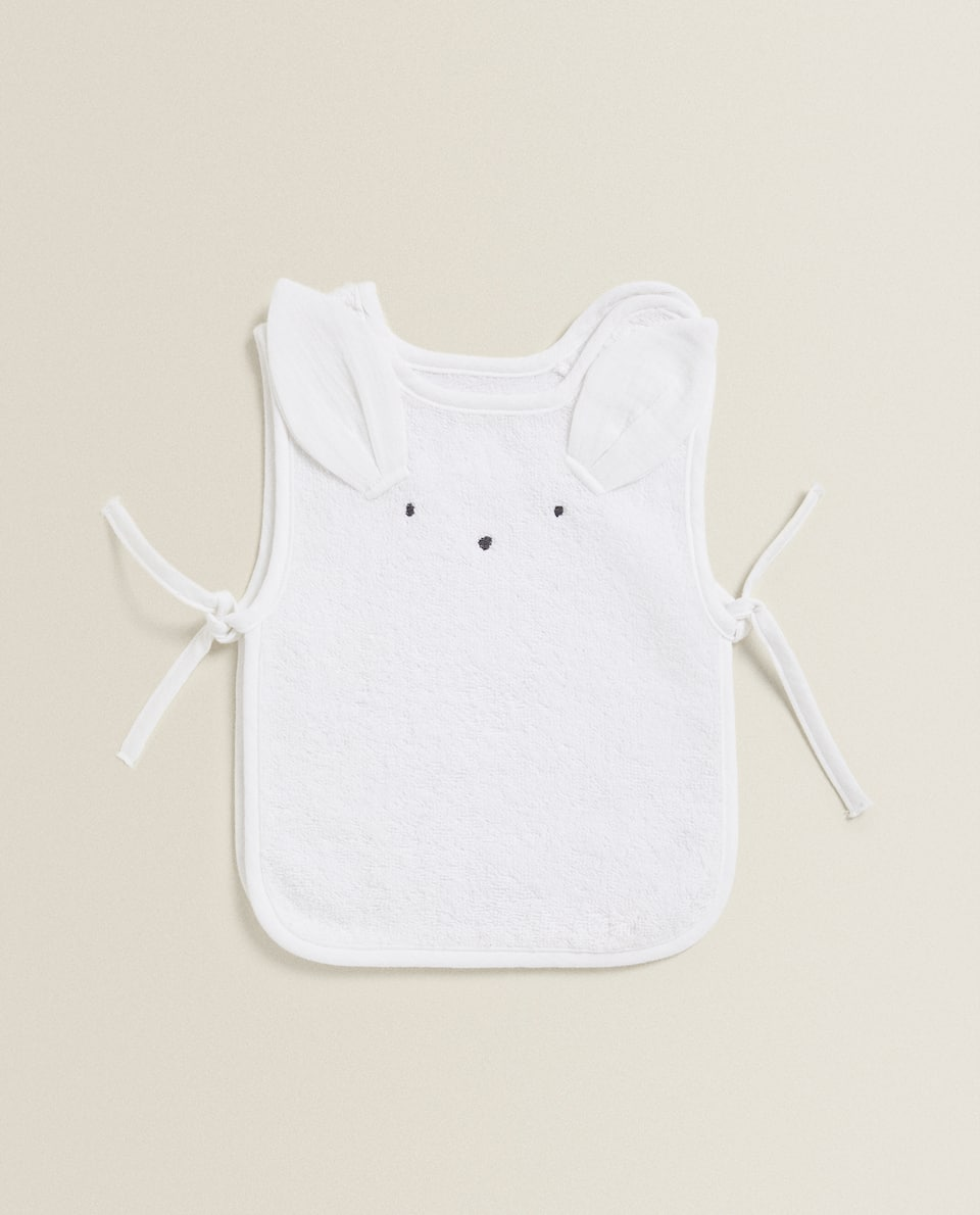BUNNY COVER-ALL BIB