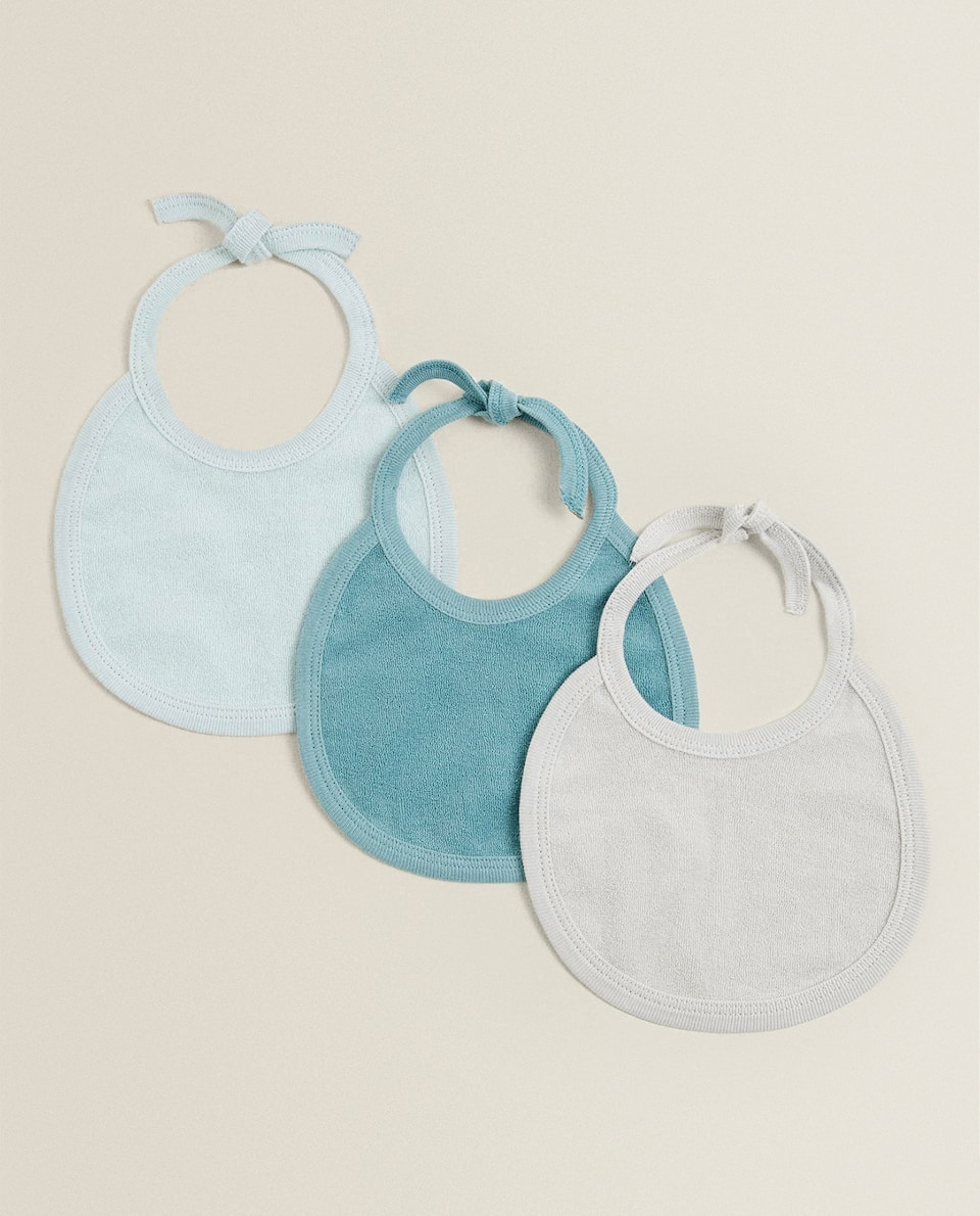 PLAIN COTTON BIB