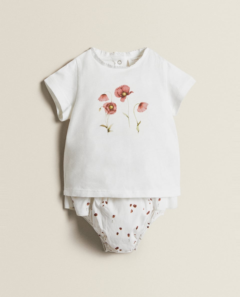 FLORAL COTTON SET
