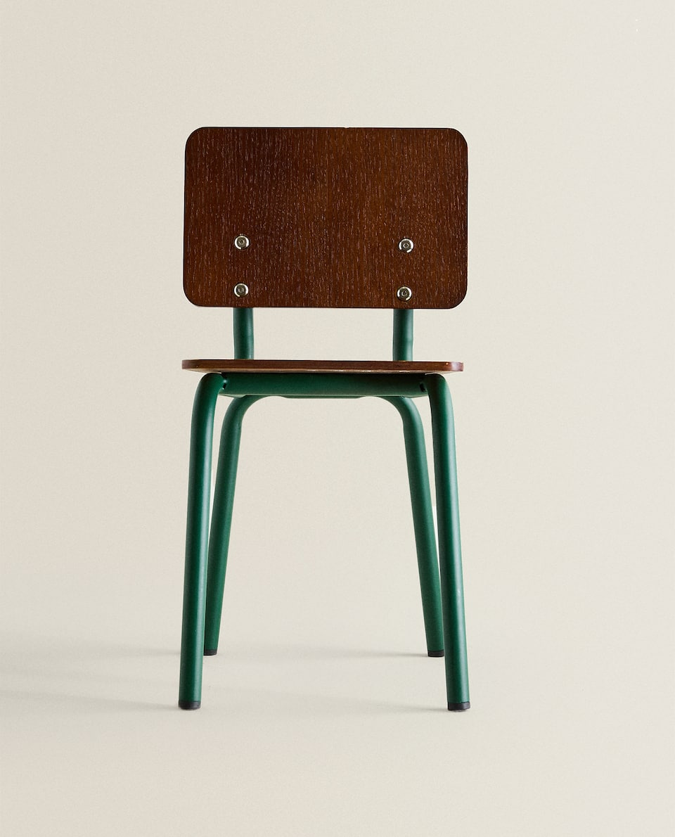 KIDS WOODEN CHAIR