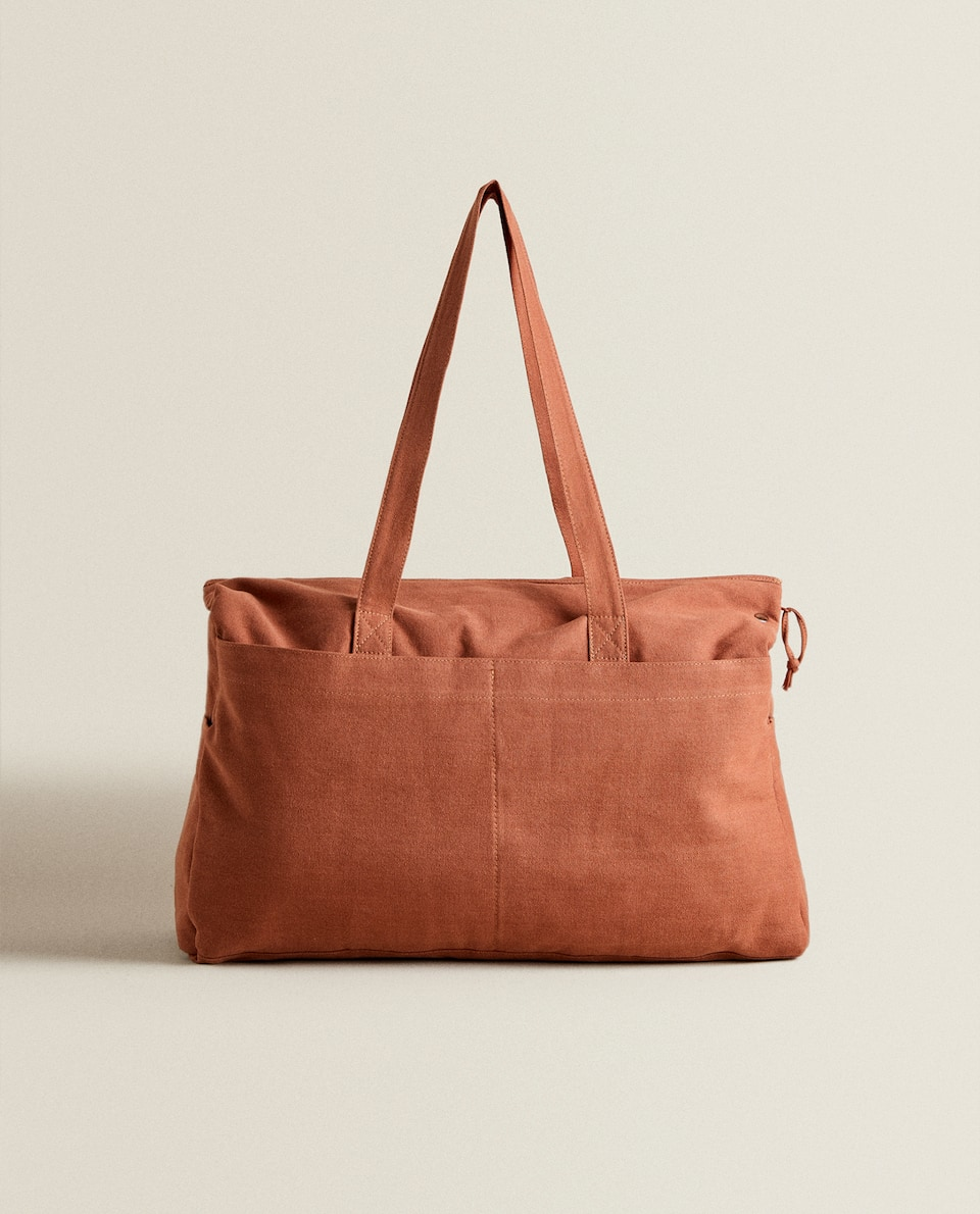 COTTON MATERNITY BAG