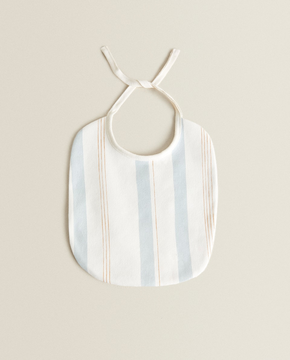 BIB WITH TWO-TONE STRIPES