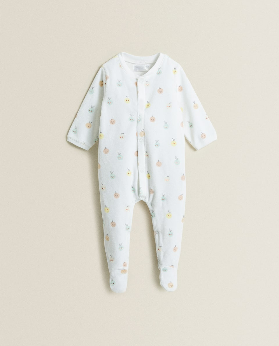 FRUIT PRINT ROMPER SUIT