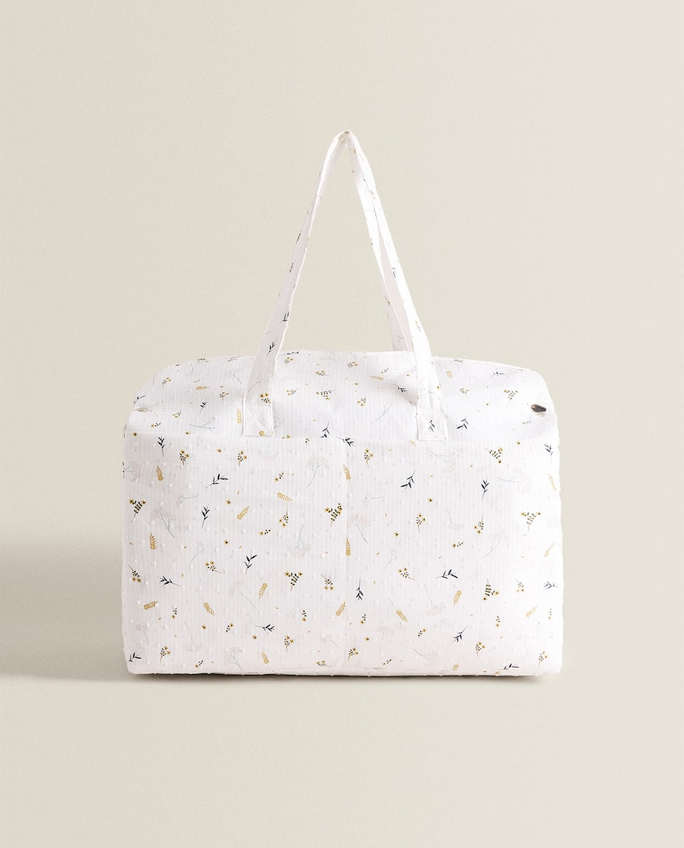 BRANCH PRINT MATERNITY BAG
