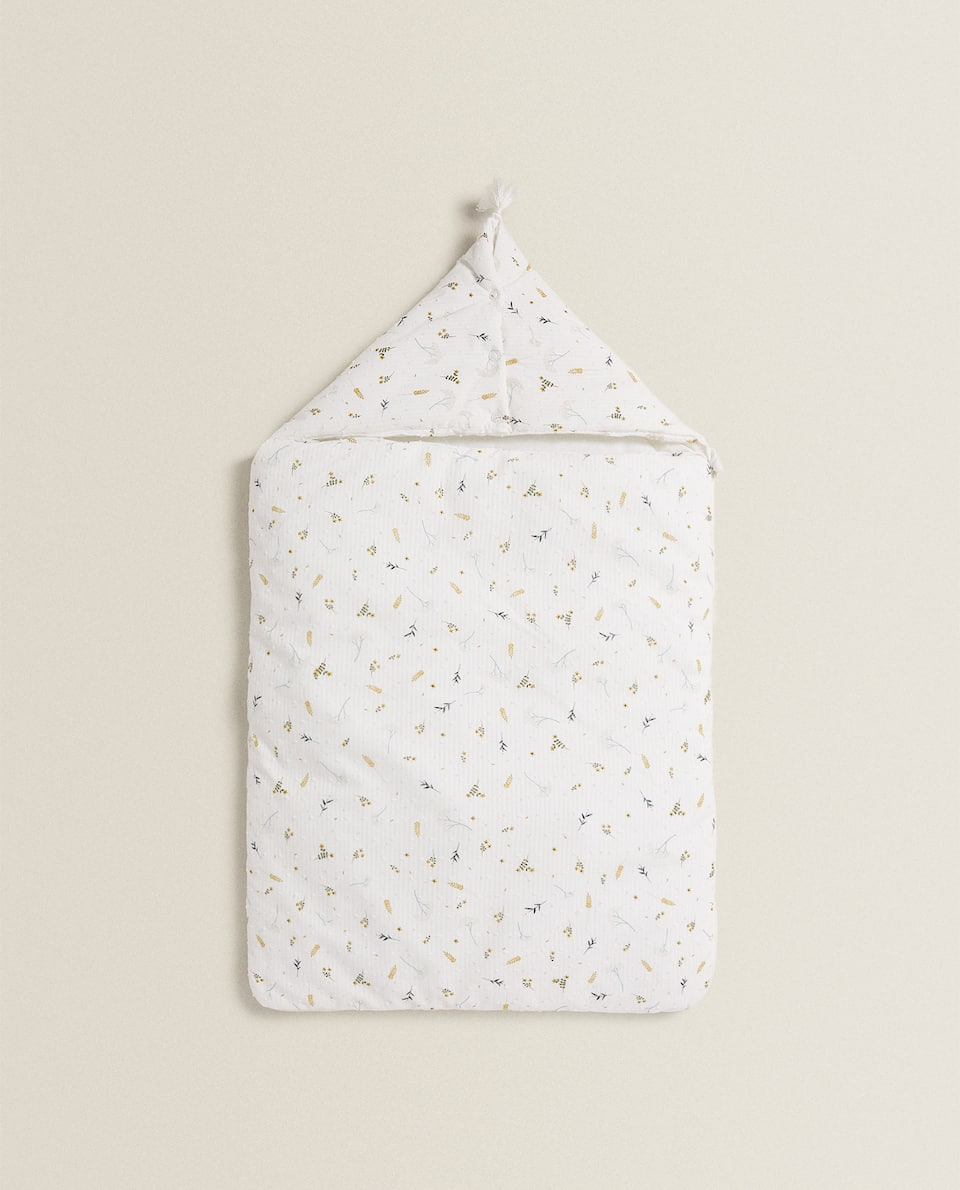 BRANCH PRINT CARRYCOT BABY WRAP