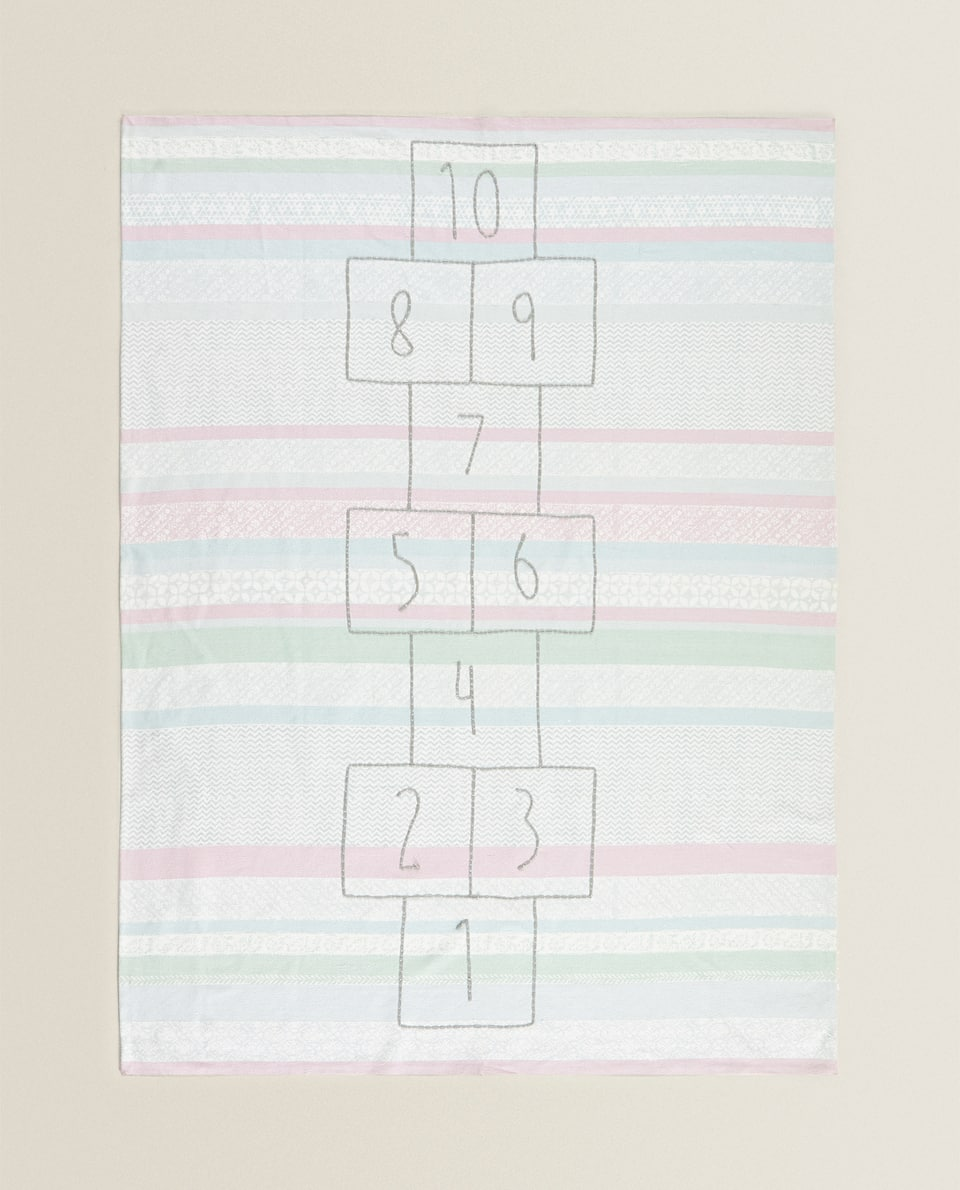 COTTON HOPSCOTCH RUG