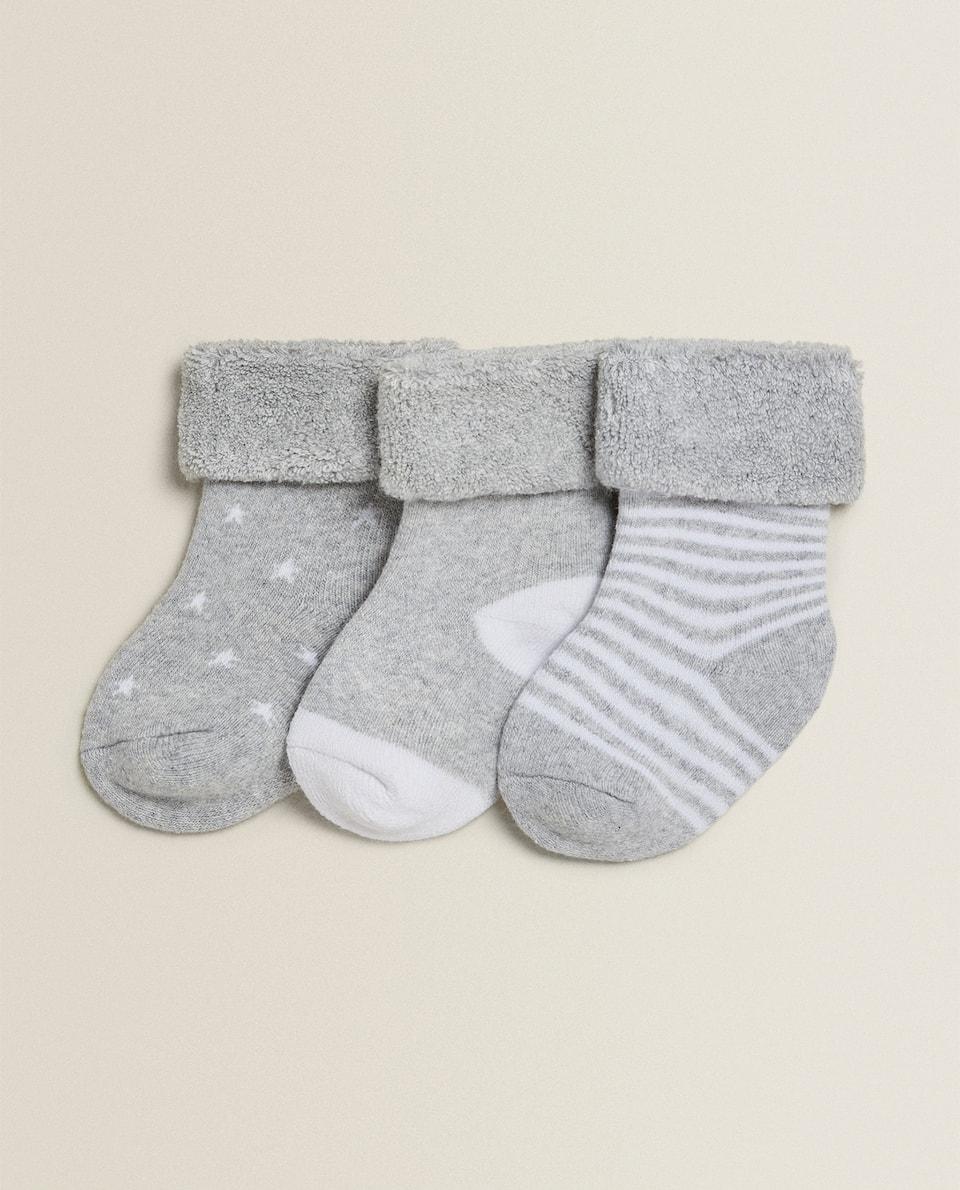 BABY SOCKS (SET OF 3 PAIRS)