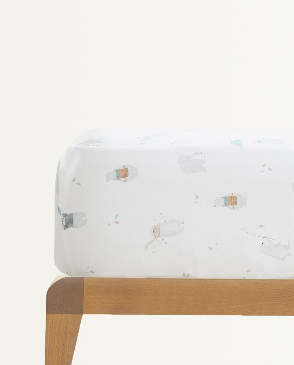 BEAR FITTED SHEET