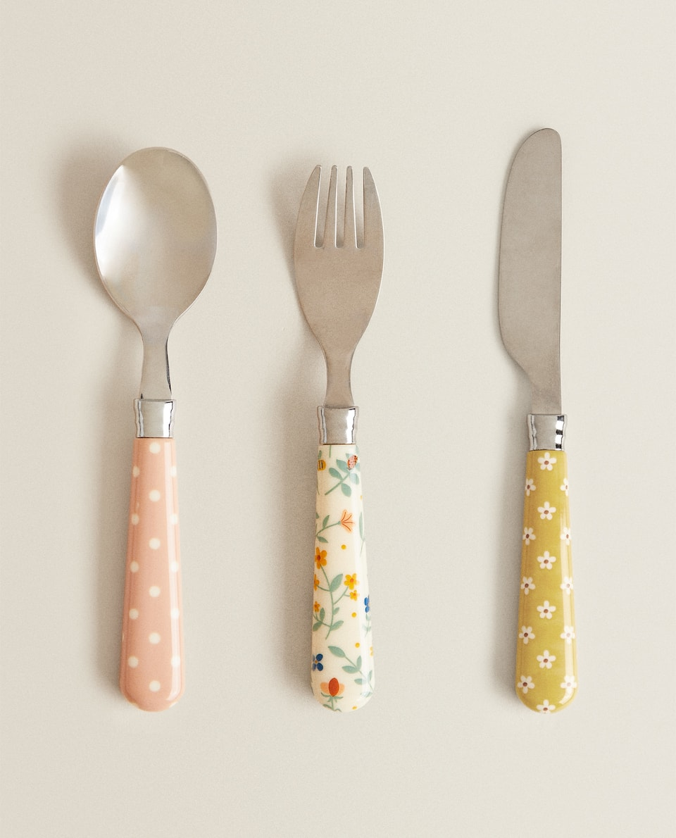 FLORAL CUTLERY