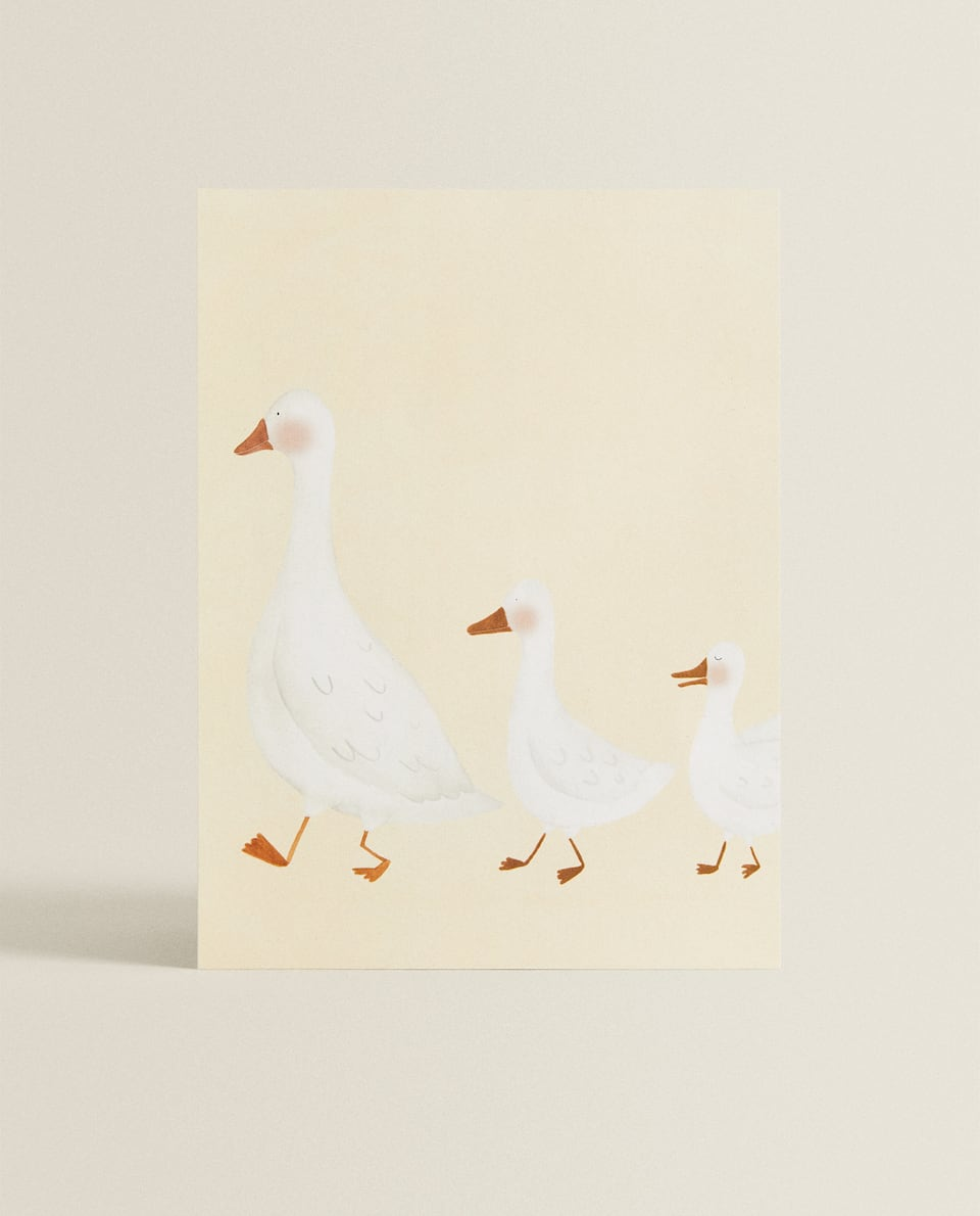 DUCK ILLUSTRATION LAMINATE