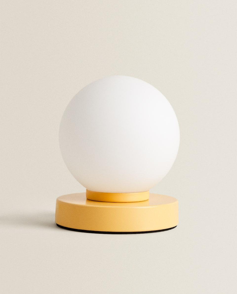 LAMPE TACTILE BOULE