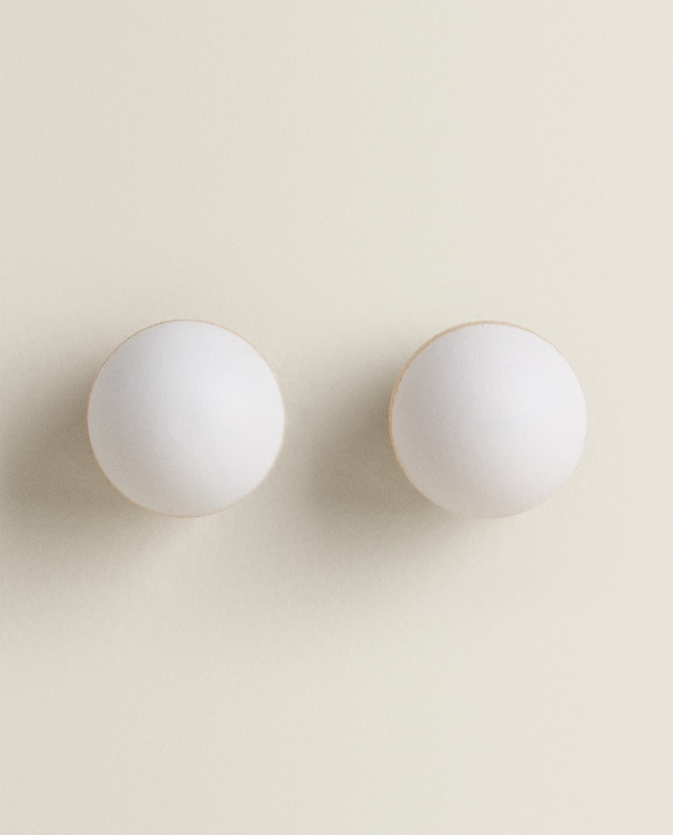 POLKA DOT DOOR KNOBS (SET OF 2)