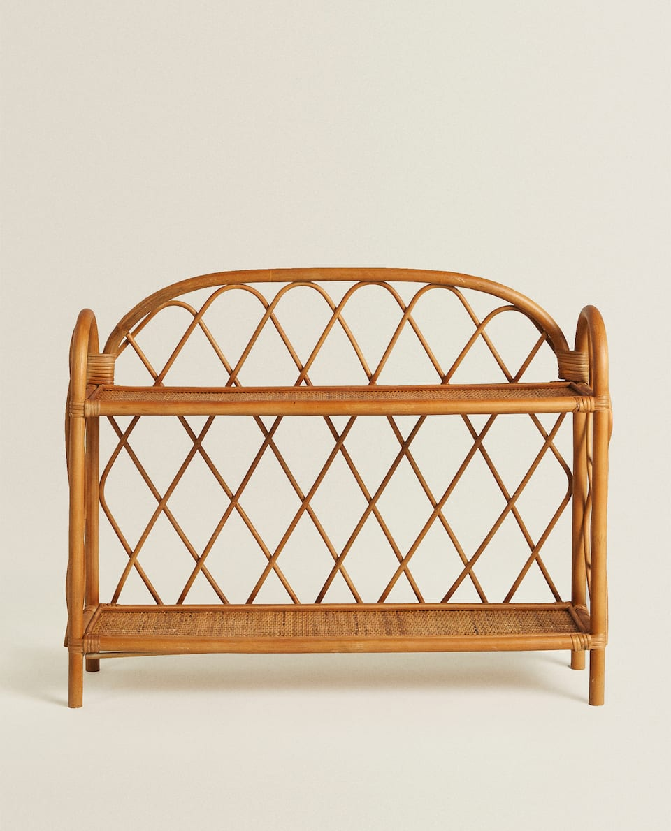 KIDS RATTAN BOOKCASE