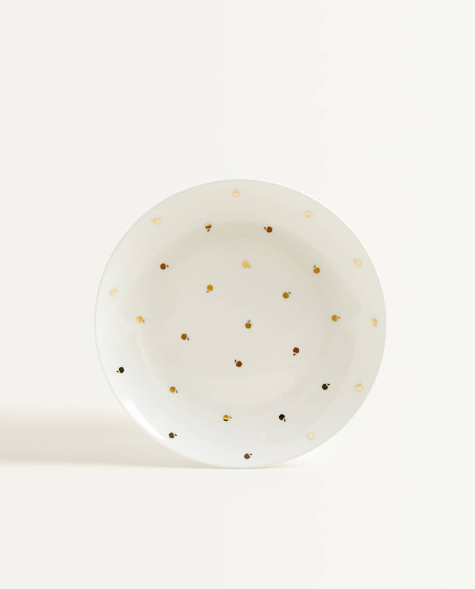 GOLDEN APPLE PRINT PLATE