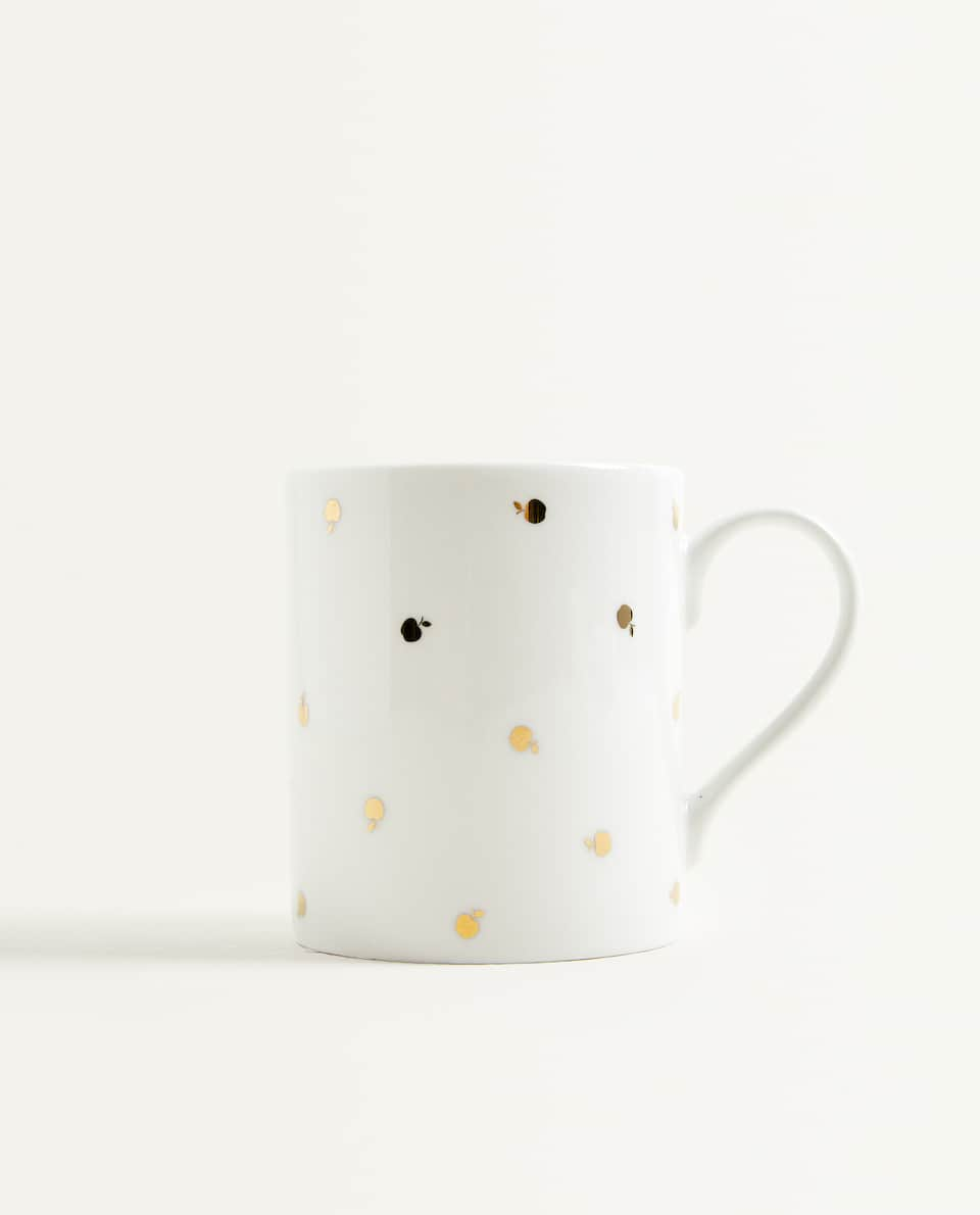 GOLDEN APPLE PRINT MUG