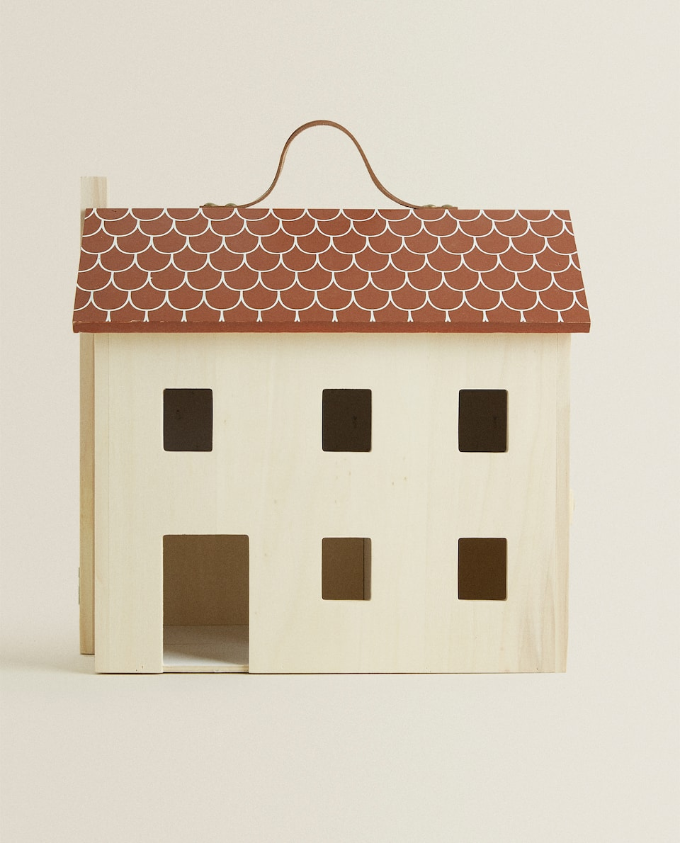 KIDS WOODEN HOUSE
