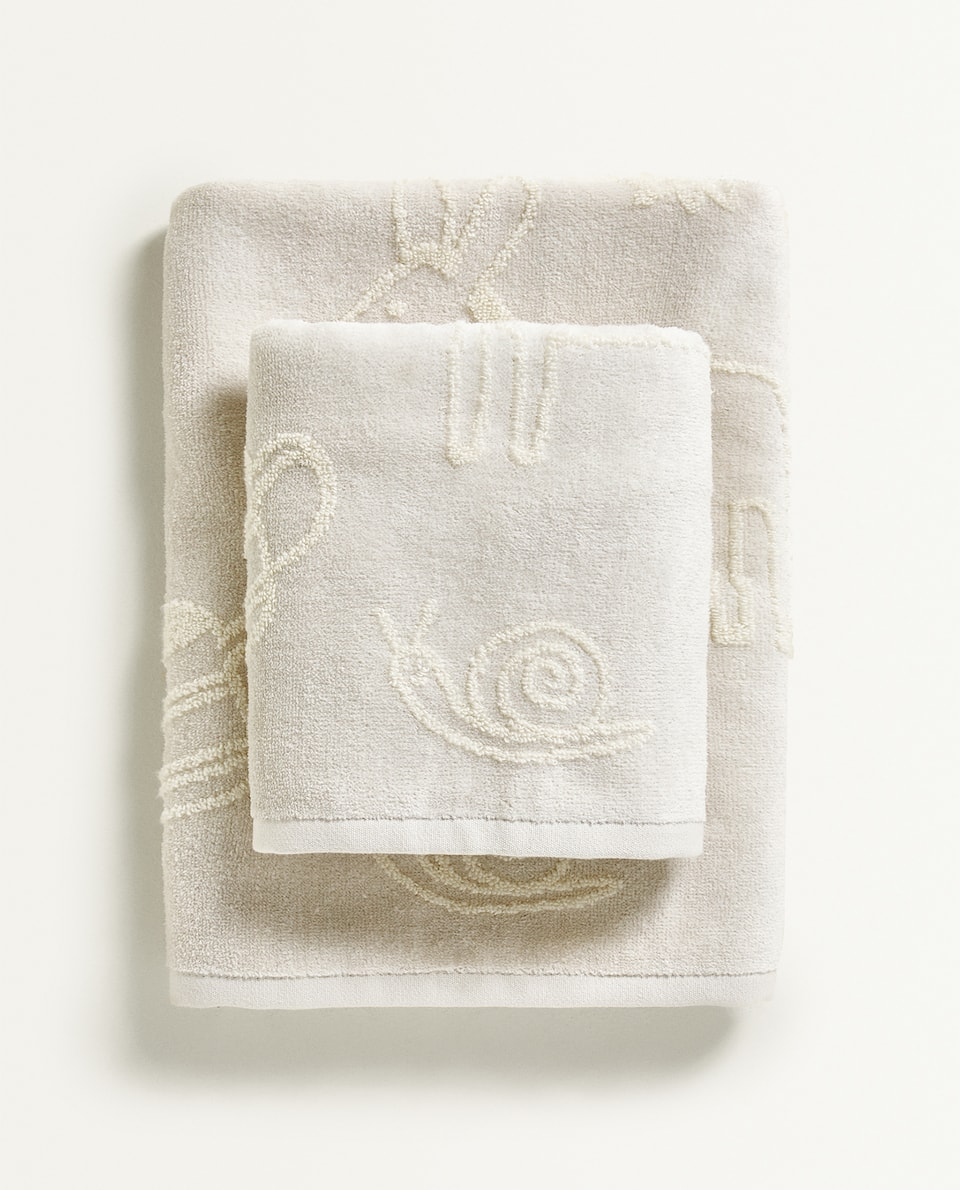 FARM EMBROIDERY TOWEL