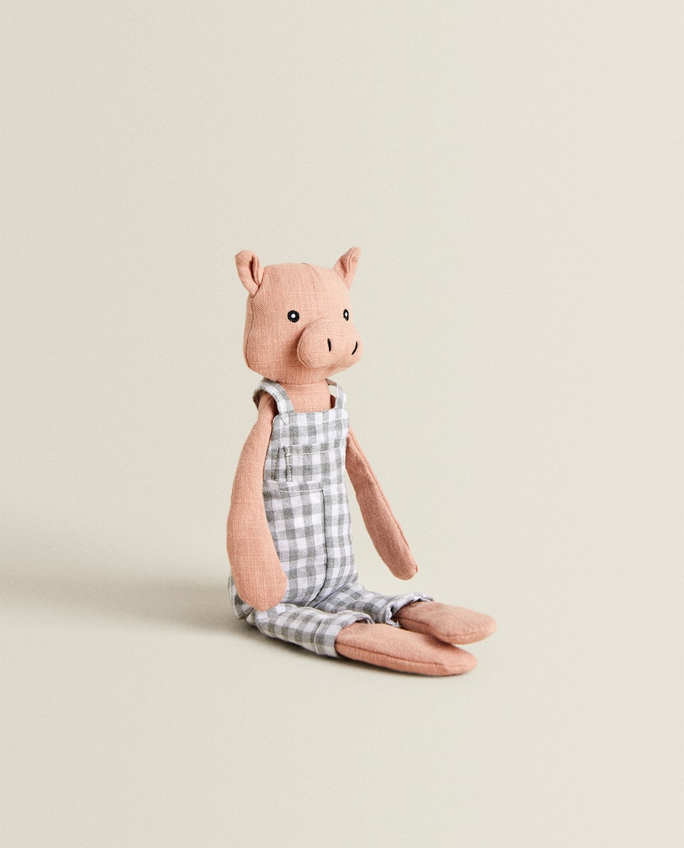 SOFT TOY DADDY PIG
