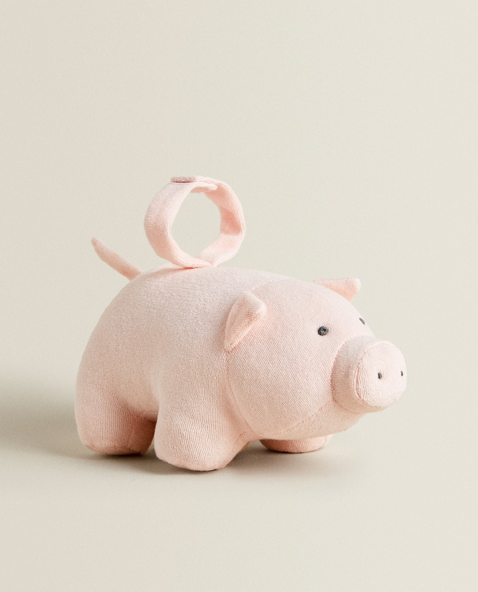 MUSICAL PIGGY SOFT TOY