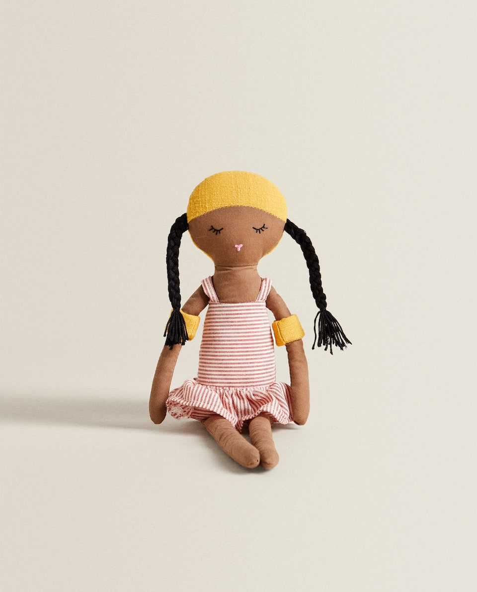 SWIMMER DOLL WITH ARMBANDS