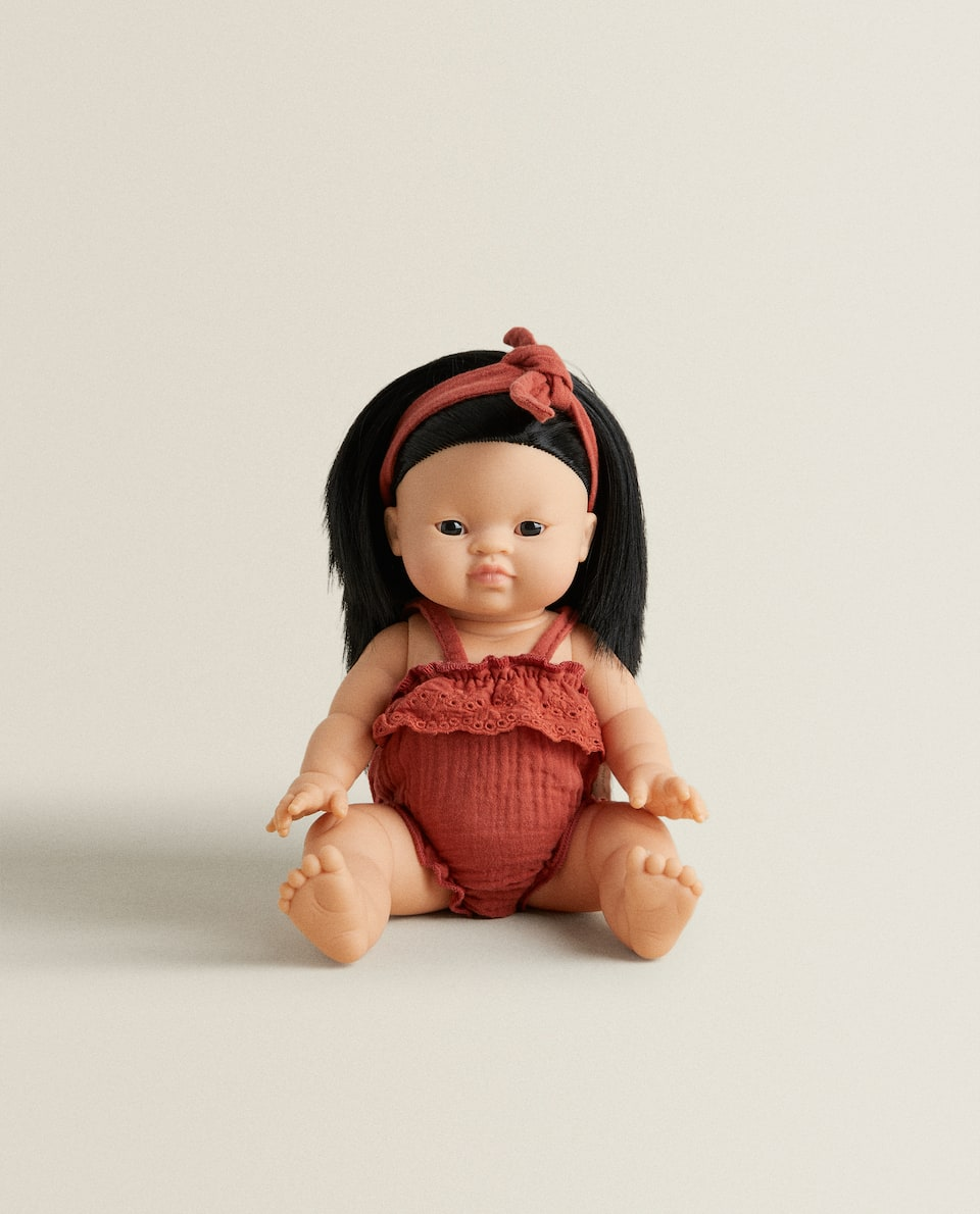 DOLL WITH BOW