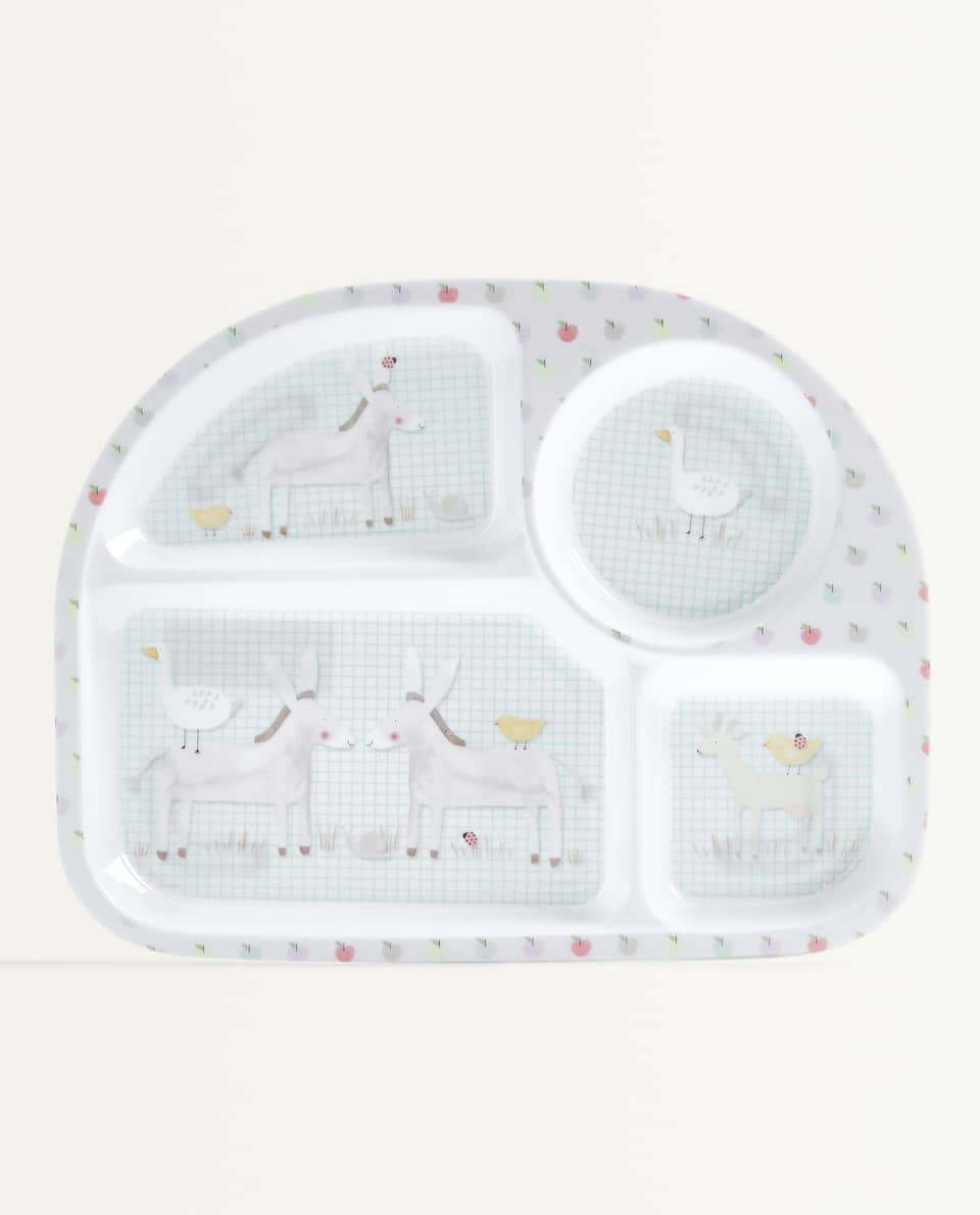 DONKEY TRAY WITH COMPARTMENTS