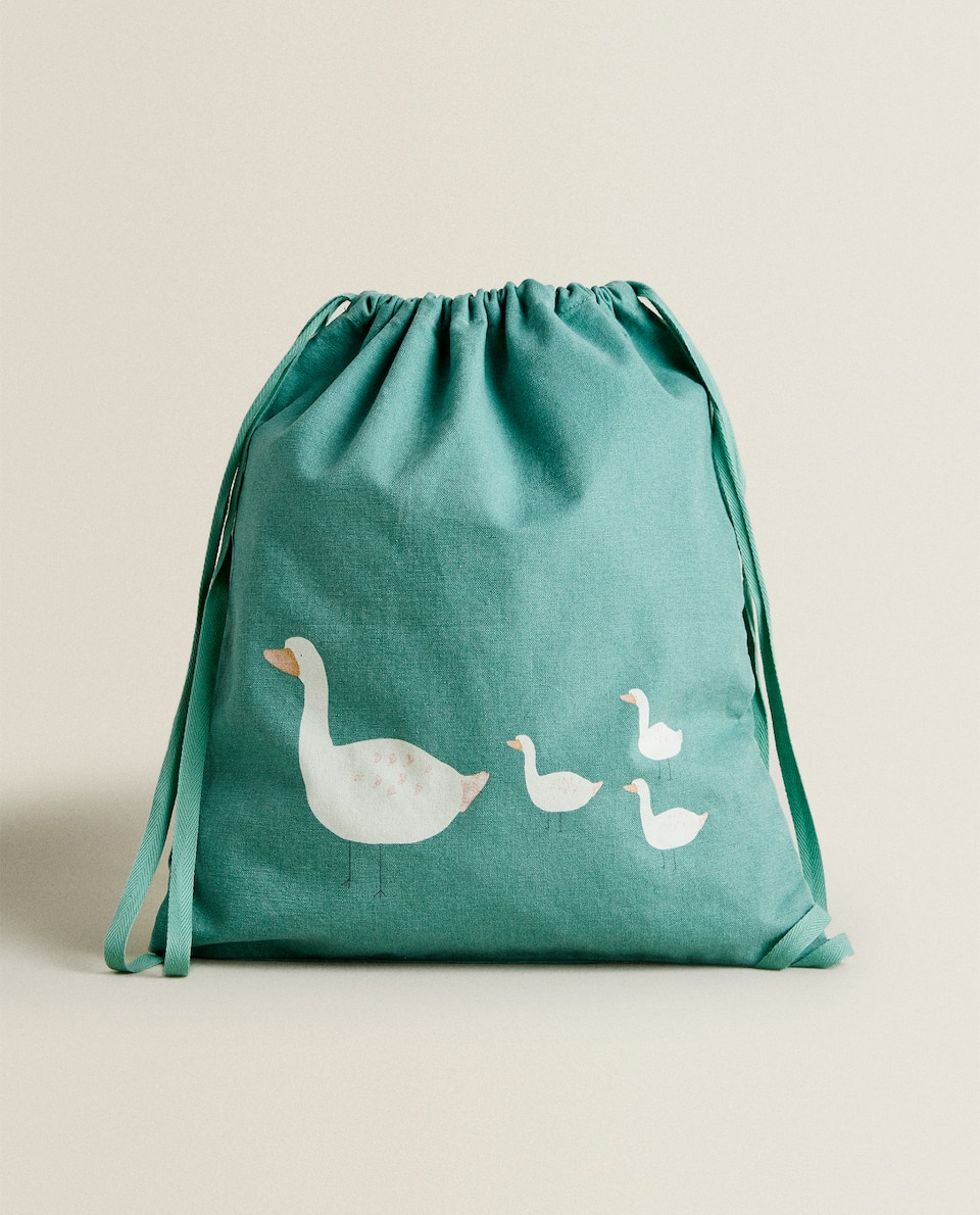DUCKLING PRINT SNACK BAG