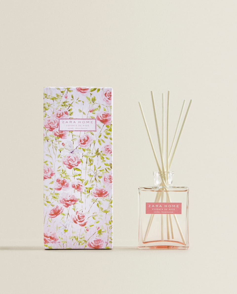 DIFFUSEUR EN STICKS ESSENCE DE ROSE (100 ML)