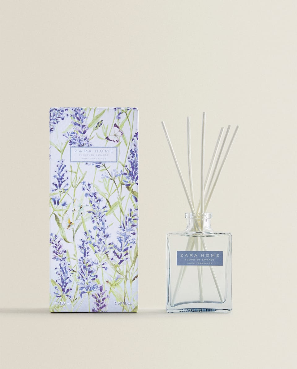LUCHTVERFRISSERS IN STICKS FLEURS DE LAVANDE (100 ML)