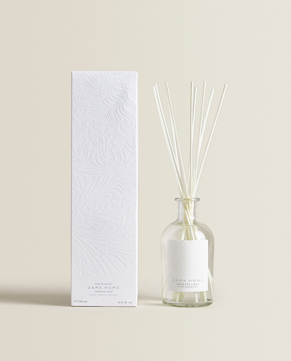 DIFFUSEUR EN STICKS ABSOLUTE LINEN (250 ML)