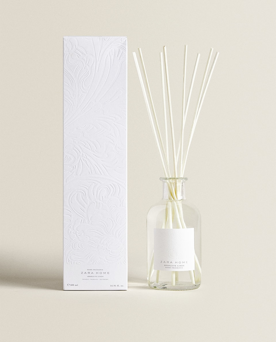 DIFFUSEUR EN STICKS ABSOLUTE LINEN (500 ML)