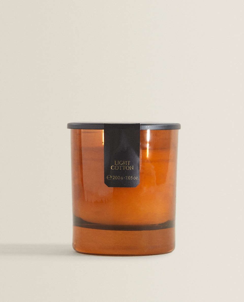 LIGHT COTTON SCENTED CANDLE (200 G)