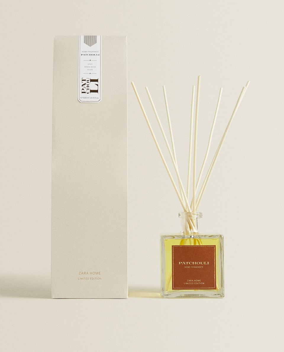 (500 ML) AMBIENTADOR EM STICKS PATCHOULI