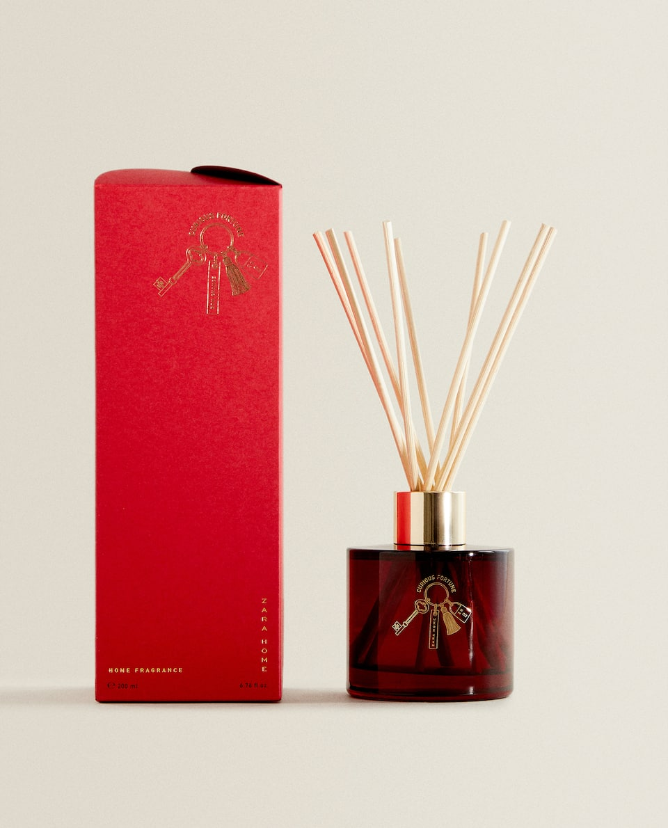 (200 ML) AMBIENTADOR EM STICKS CURIOUS FORTUNE
