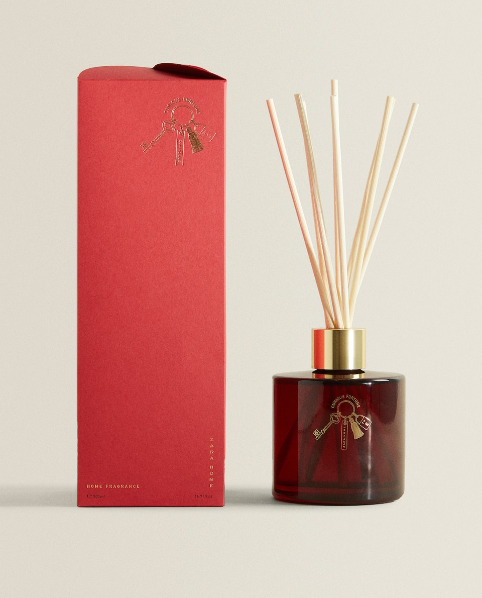 (500 ML) AMBIENTADOR EM STICKS CURIOUS FORTUNE