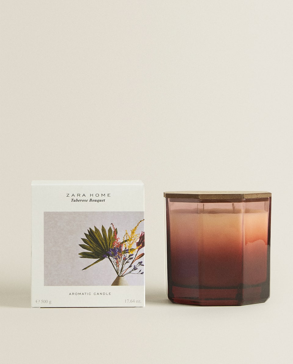 TUBEROSE BOUQUET SCENTED CANDLE (500 G)