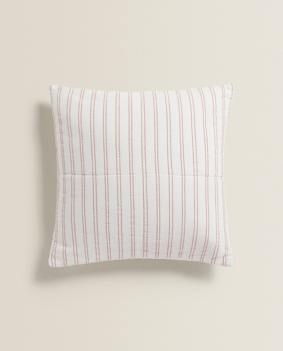 DOUBLE STRIPED CUSHION COVER