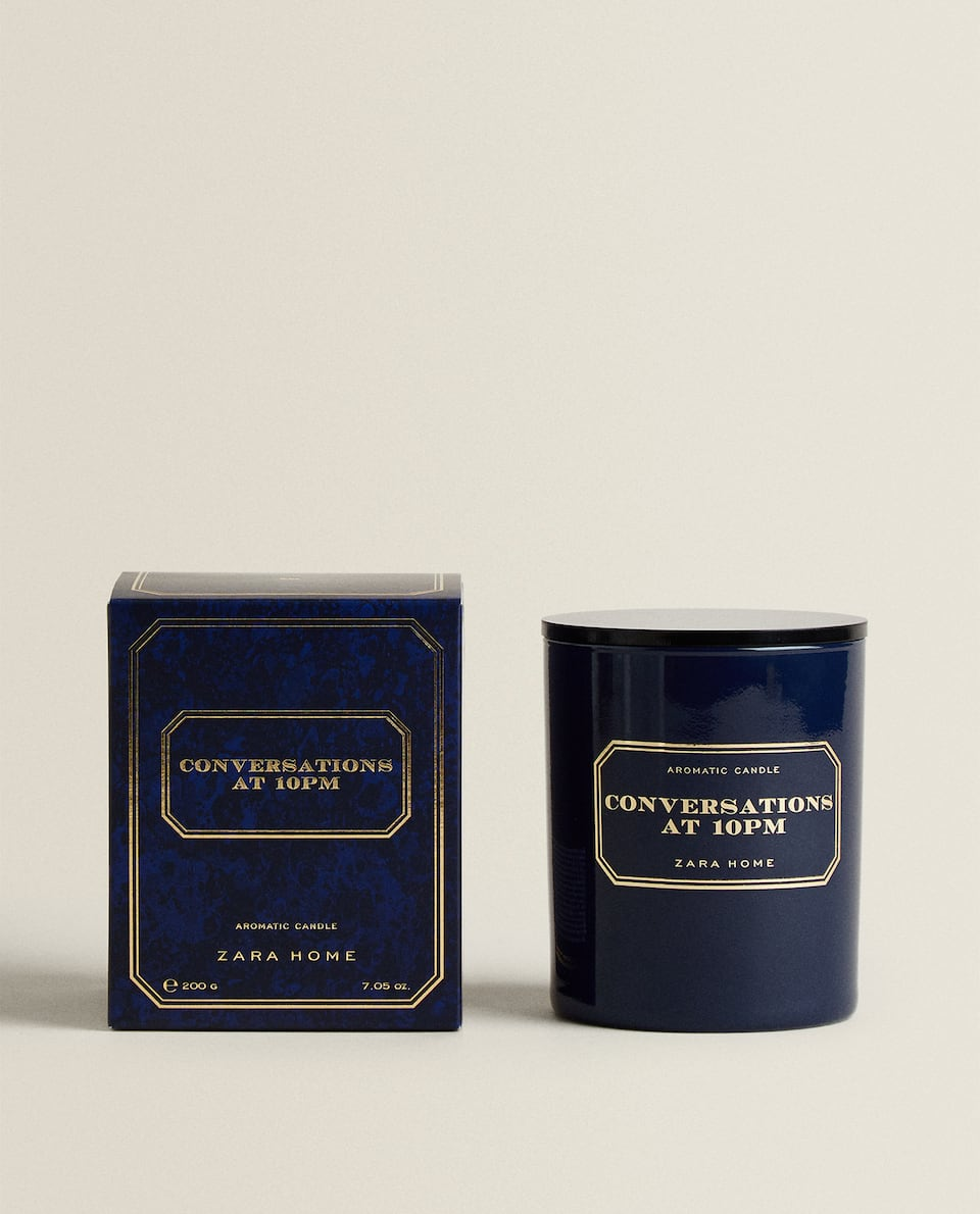 CONVERSATIONS AT 10 PM SCENTED CANDLE (500 G)