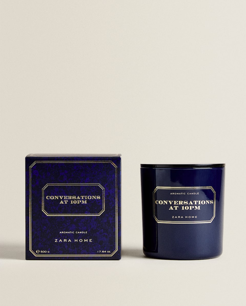 BOUGIE PARFUMÉE CONVERSATIONS AT 10 PM (500 G)