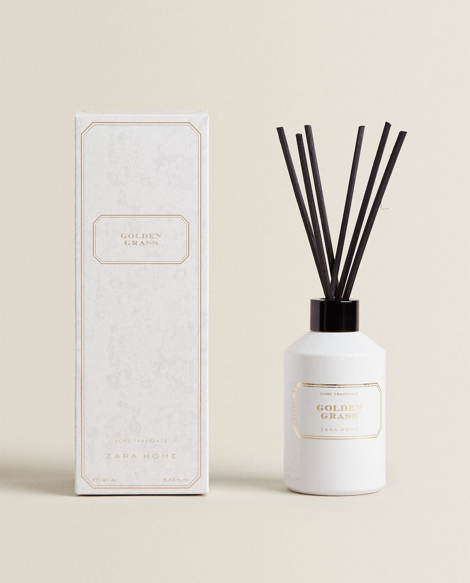 (190 ML) AMBIENTADOR EM STICKS GOLDEN GRASS