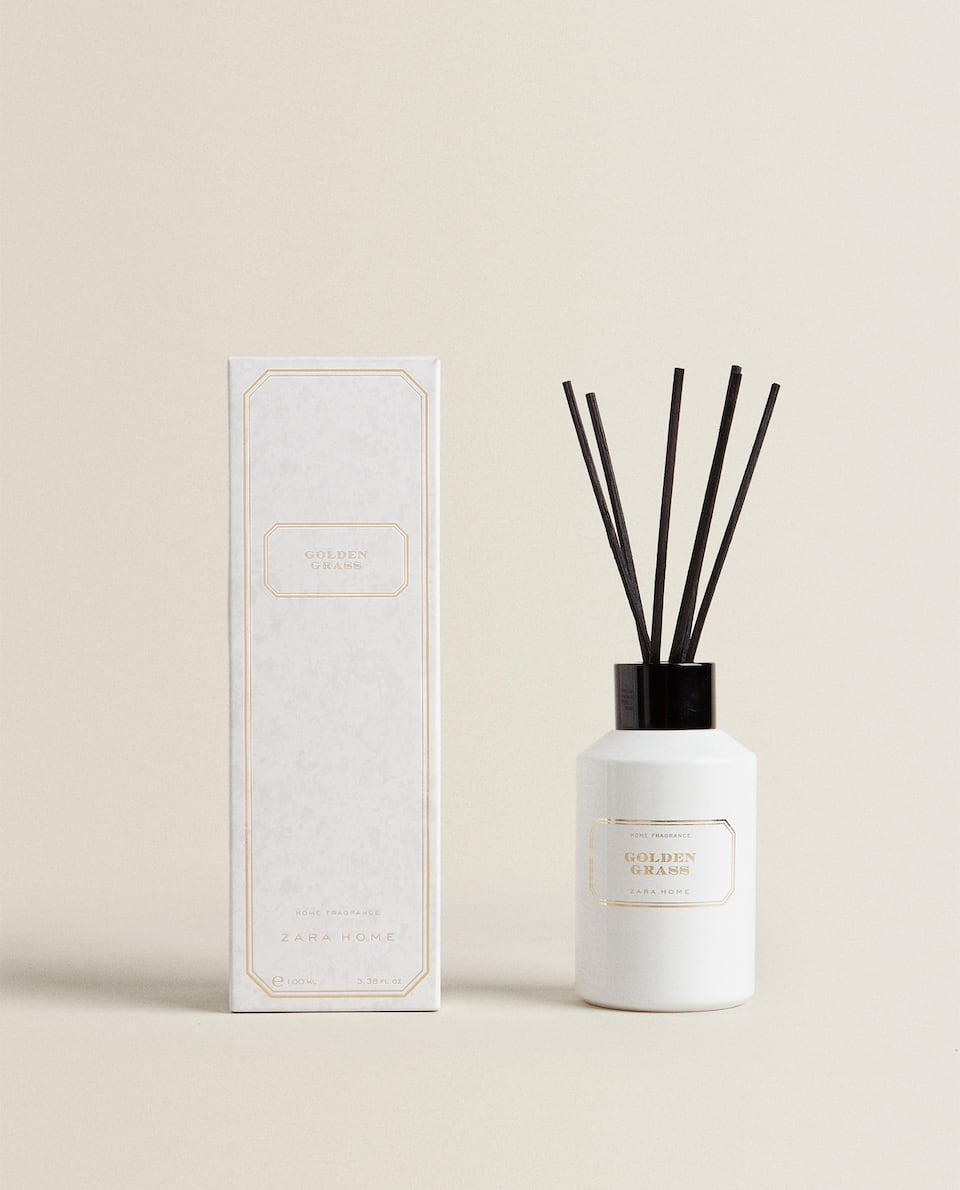 (100 ML) AMBIENTADOR EM STICKS GOLDEN GRASS