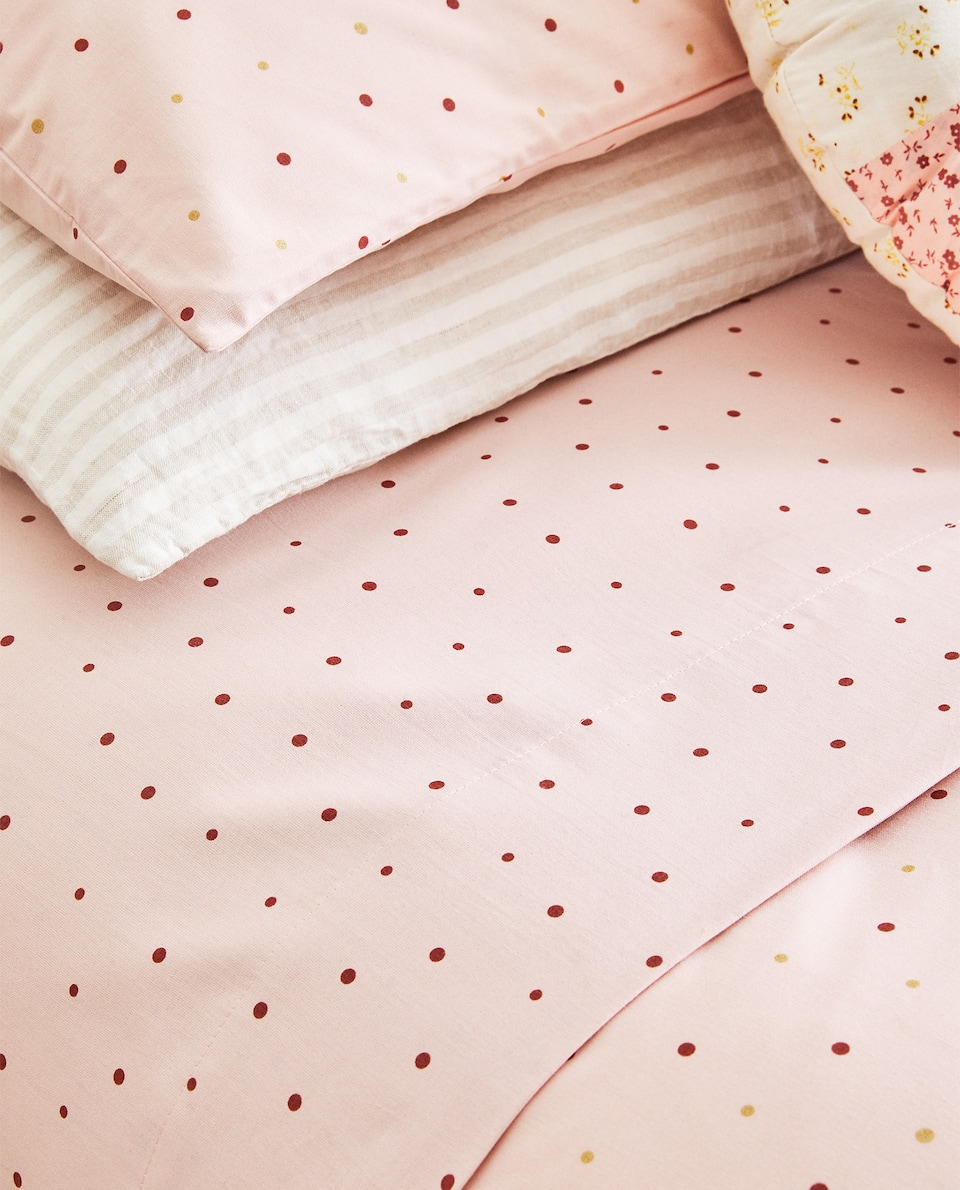 POLKA-DOT DUVET COVER