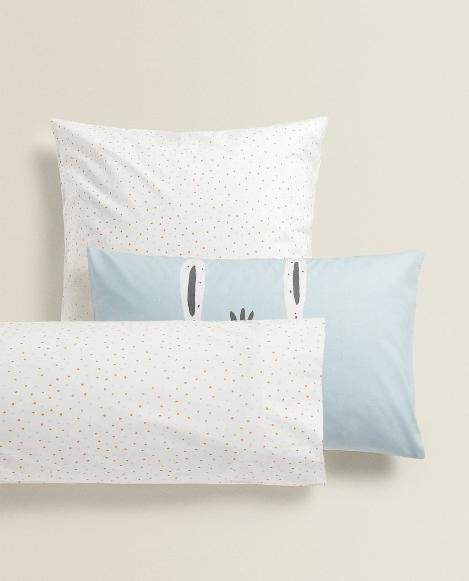 DONKEY PRINT PILLOWCASE