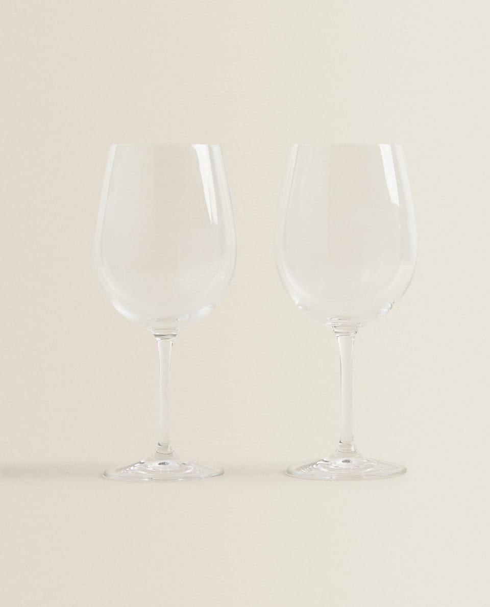 CRYSTALLINE BORDEAUX WINE GLASS (SET OF 2)