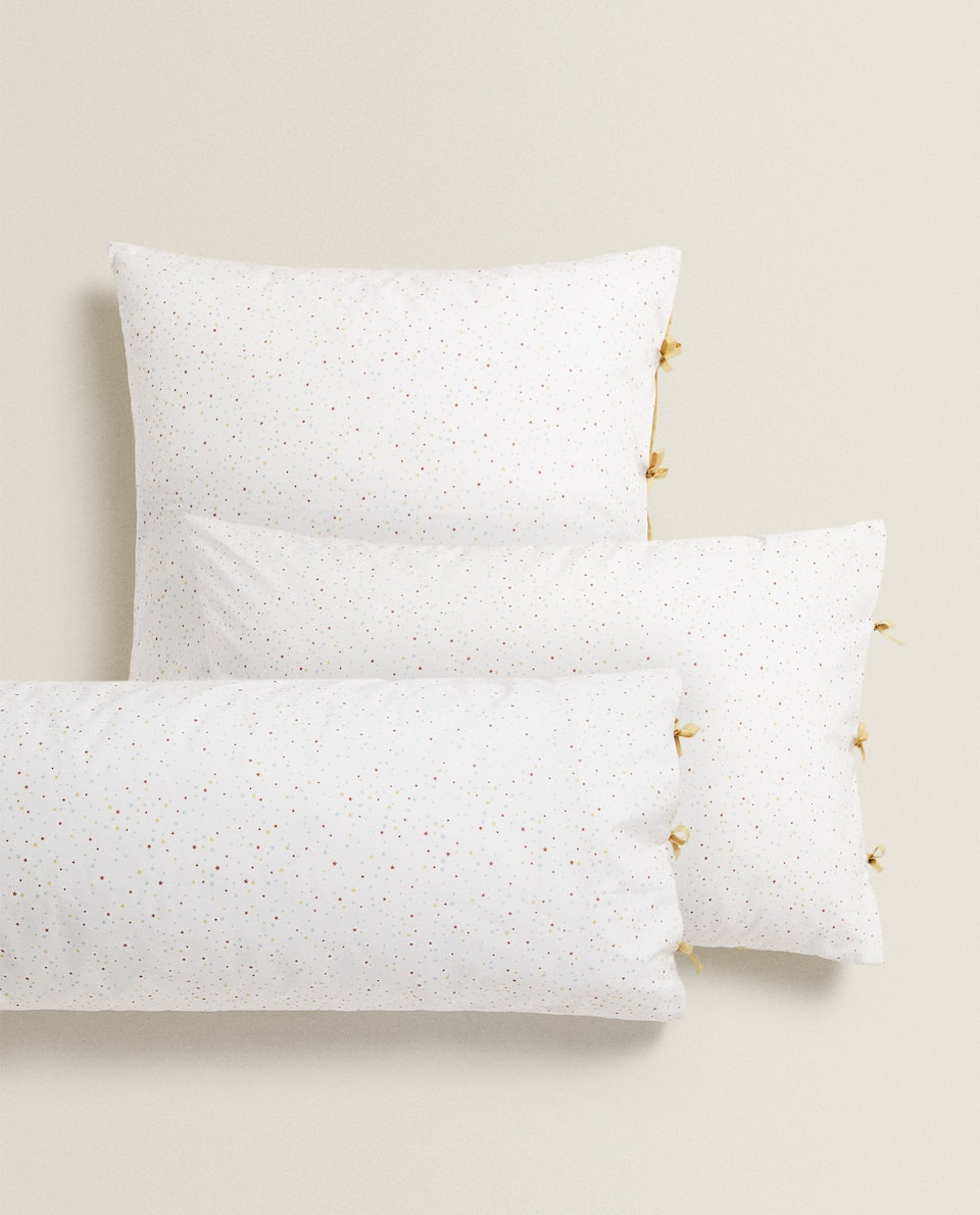 STAR PRINT PILLOWCASE